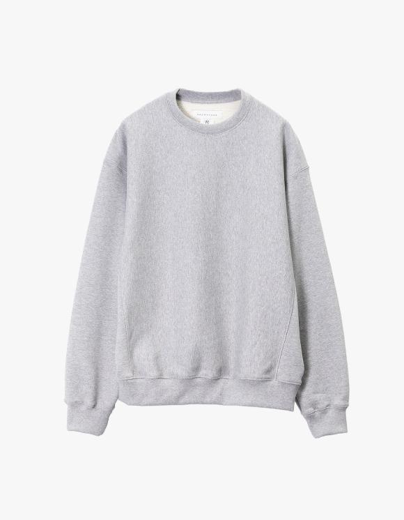 Brown Yard Essential Sweat Shirt - Grey | HEIGHTS. | 하이츠 온라인 스토어
