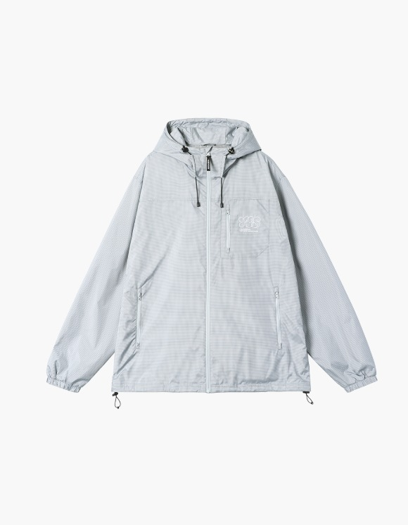 yeseyesee Y.E.S Check Windbreaker - Grey | HEIGHTS. | 하이츠 온라인 스토어