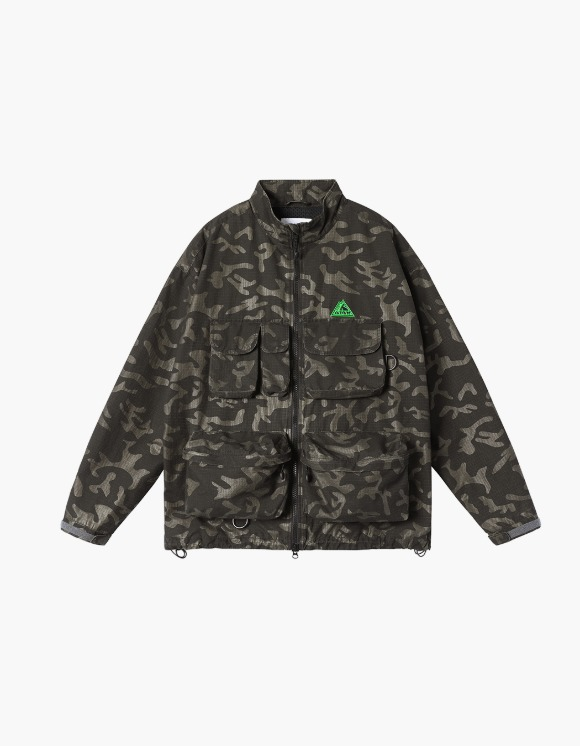 yeseyesee Y.E.S Fishing Parka - Black Camo | HEIGHTS. | 하이츠 온라인 스토어