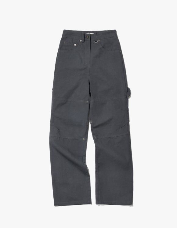 MISCHIEF Oxford Carpenter Pants - Grey | HEIGHTS. | 하이츠 온라인 스토어